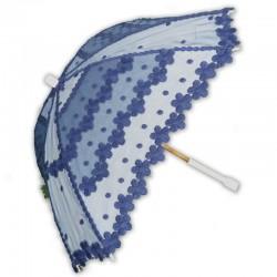 Sombrilla glamour azul