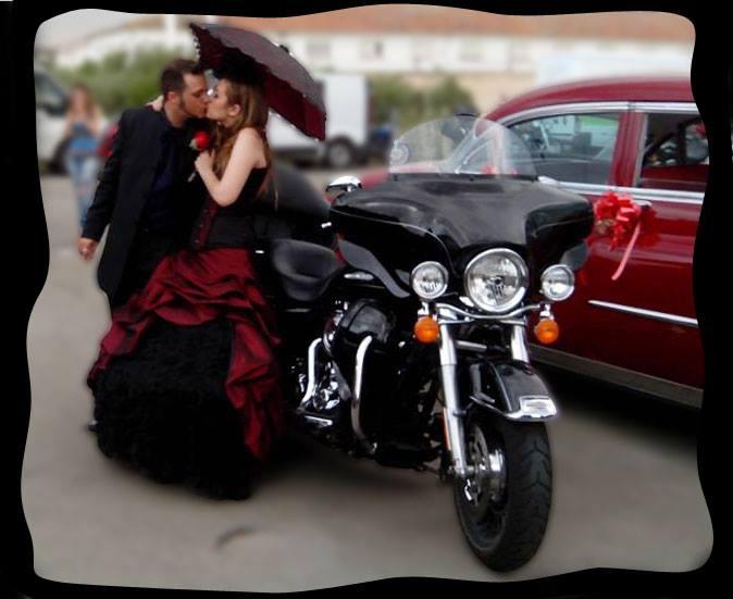 Creación de Solbrillas para novias góticas